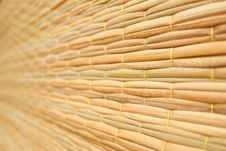 Free Weave Pattern Of Reed Mat Royalty Free Stock Image - 15696906