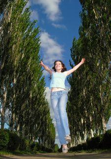 Free Happy Girl Stock Photos - 15697093
