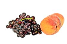 Free Peaches And Grapes Stock Image - 15697371