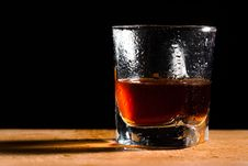 Free Glass From Whisky Stock Photography - 15697972