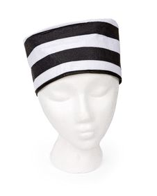 Free Black And White Striped Prisoner Hat Stock Photography - 15698792