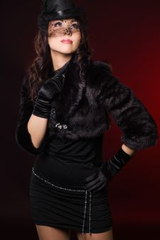 Free Elegant Fashionable Woman Royalty Free Stock Image - 15699966