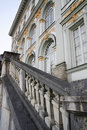 Free Stairs And Front Of A Baroque Chateau Stock Photo - 1572860