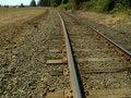 Free Railroad  Tracks Royalty Free Stock Photo - 1576685