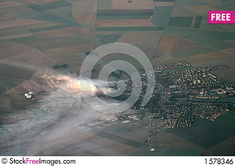 Free Industrial Smog Royalty Free Stock Image - 1578346