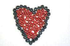 Free Fruit Loop Heart Royalty Free Stock Images - 1570939