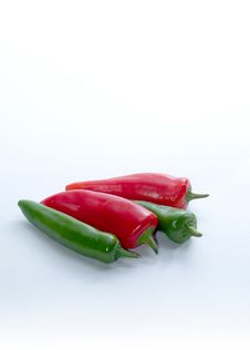 Free Peppers Royalty Free Stock Image - 1571406