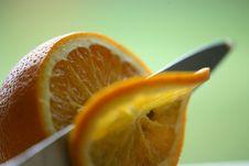 Free Orange Sliced Royalty Free Stock Image - 1571856