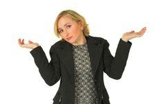 Free Blond Woman Blue Eyes 2 Stock Photos - 1572863