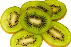 Free Kiwi Fruit Sliced Stock Photos - 1572963