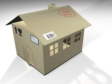 Free Cardboard House Royalty Free Stock Images - 1574199