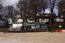 Free Cottages In Winter Stock Photography - 1574382