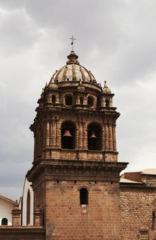 Free Colonial Architecture In The Peru Royalty Free Stock Photography - 1574857