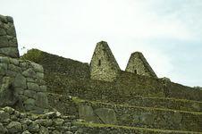Machu-Picchu Ruins Royalty Free Stock Photos