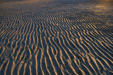Free Sand Ripples Royalty Free Stock Photography - 1575067