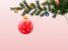 Free Christmas Ornaments Royalty Free Stock Images - 1575289
