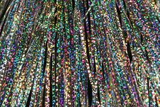 Free Holographic Tinsel Royalty Free Stock Photo - 1575405