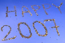 Free Happy 2007 Royalty Free Stock Images - 1575469
