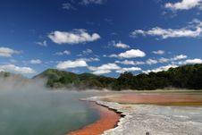 Free Sulphur Pool Stock Photo - 1575690