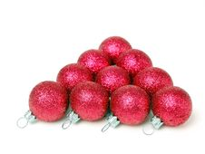 Free Red Ball Pyramid Royalty Free Stock Photo - 1575975