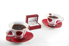 Free Tea Before The Wedding Royalty Free Stock Photography - 1576207