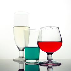 Free Colored Drinks Stock Image - 1576261