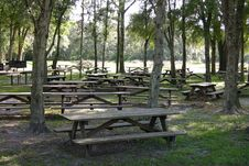 Free Picnic Tables Stock Photos - 1576353