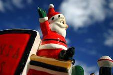 Free Loco Santa 4 Stock Photography - 1576562