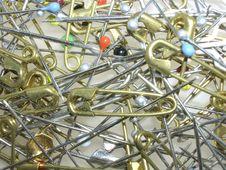 Free Pins & Needles Royalty Free Stock Image - 1576966