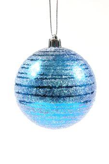 Free Blue Christmas Ornament Royalty Free Stock Photos - 1576988