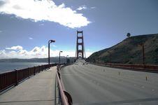 Free Traffic On Golden Gate Bridge Stock Photo - 1577730