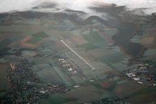 Rouen Airport Royalty Free Stock Photography