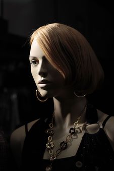 Free Head Of A Mannequin Stock Photo - 1578390