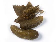 Free Pickle Cucumbers Stock Image - 1578461