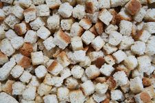 Free Croutons For Stuffing Background Stock Images - 1578574