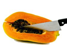 Free Papaya (series2) Royalty Free Stock Images - 1579539