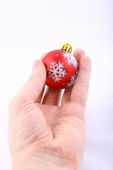 Free Christmas Ball Gift Royalty Free Stock Photo - 1579605