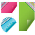 Free Blank Vector Sticky Notes Royalty Free Stock Photos - 15704738