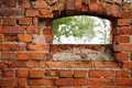Free Red Old Brick And Window Royalty Free Stock Photos - 15706128
