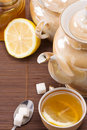 Free Pot And Honey On Table Stock Photo - 15707710
