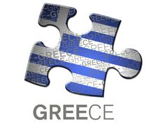 Free Button With The Greece Flag. Royalty Free Stock Photos - 15700388