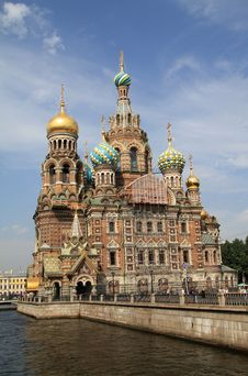 Free Cathedral Of The Spilled Blood Royalty Free Stock Image - 15700506