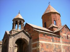 Monastery Khor Virap, Armenia Stock Image