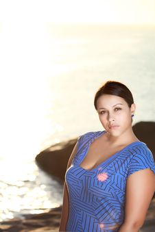 Free Sunrise Woman Royalty Free Stock Images - 15700869