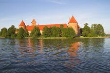 Free Castle Of Trakai, Lithuania Royalty Free Stock Image - 15701636
