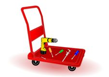 Free Vector Illustration The Replacement Tool Stock Image - 15702901