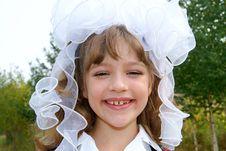 Free The Schoolgirl Smiles Stock Photography - 15703892