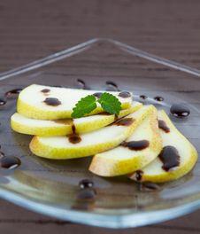 Free Pear Dessert Stock Image - 15705401