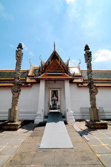 Way To Buddha Stock Image