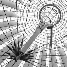Sony Center Berlin Royalty Free Stock Photo